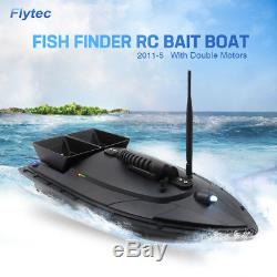 Flytec 2011-5 RC Bait Boat Remote Control Fishing Tool Fish Finder Speedboat