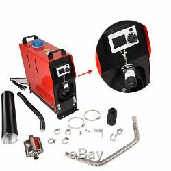 For Car Truck Boat + LCD + Remote Control 12V 5KW Diesel Fuel Air Heater Machine
