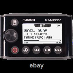 Fusion Marine Boat Stereo MS-NRX300 Wired Remote NMEA 2000 with Screen Waterproof