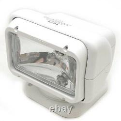 GoLight Boat Halogen Spotlight 2020 White with Hardwired Remote Control