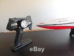 High Speed 30 in. Racing Remote Control RC Boat Radio Controlled Cigar Electric