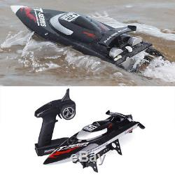 High Speed FT012 Remote Control 2.4G 4CH Brushless Motor RC Racing Boat 50km/h