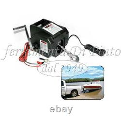Hoist Winch Electric 12 V for Car And Boat with Remote Control KG 2700 12V