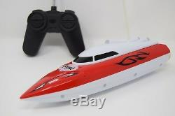 Hq Racing Speed Boat Radio Remote Control Boat 100 Metres Sea Level Speed 12km/h