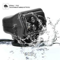 IP 65 LED Remote Control Searchlight Work Spotlight for Car Truck SUV Boat