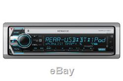 Kenwood KMR-D772BT Marine Boat CD/WMA/MP3 Player Bluetooth Pandora iHeart Radio