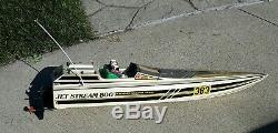 Kyosho jet stream 800 remote control RC racing race speed boat VINTAGE TOY HOBBY