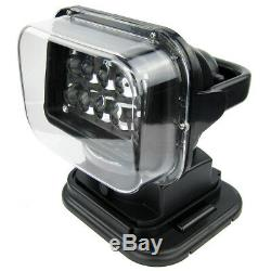 LED Remote Control Marine Boat Car Searchlight Wireless Spotlight 10Bulbs Device