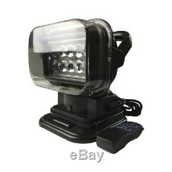 LED Search Light Rotating Remote Control Emergency Spot Lights for Boat Car SUV
