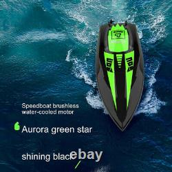Large Brushless RC Racing Boat 40KM/h High Speed Electronic Remote Control Boat