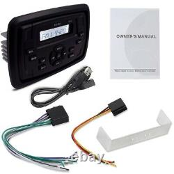 Marine Audio Boat Yacht Car Waterproof Bluetooth Stereo Receiver Car Mp3-Player