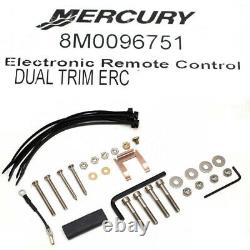 Mercury Boat Electronic Remote Control 8M0096751 Dual Engine DTS