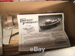 Midwest Patriot Fireboat Remote Control Boat Kit