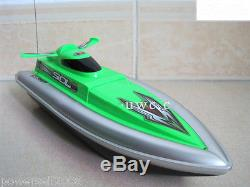 Mini Green Length 29CM Remote Control Boat Simulation Racing Boat Model Gift Toy