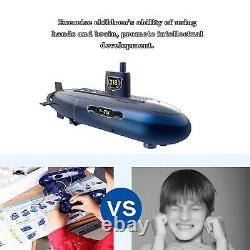Mini RC Submarine, Remote Control Submarine Model Toy Diving Boat Ship Toy Ed