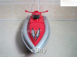 Mini Red Length 29CM Remote Control Boat Simulation Racing Boat Model Gift Toys