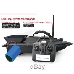 Mini Remote Control RC Wireless Fishing Lure Bait Boat 300M for Finding Fish NEW