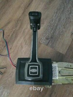 Morse Marine Boat Trim Tilt Remote Control Box with Free Cables