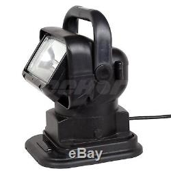 NEW HID 55W LED Search Light Remote Magnetic Base 360 Degree Boat Truck SUV Jeep