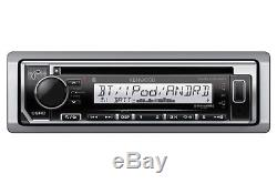 NEW Kenwood Bluetooth Marine Boat KMR-D372BT iPhone iPod Stereo USB Receiver