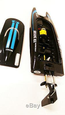 NEW RTR SALE PRICE Remote Control Flame 2.4G Propeller Speed Racing Boat RC Boat
