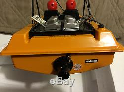 NQD Water Jet Speed Boat RC Remote Control Yellow 2 Channel 125 New 390 Motor