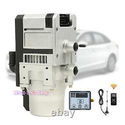 New 12V 5KW Diesel Water Heater Kit For RV Car Truck Boat with Remote Controller
