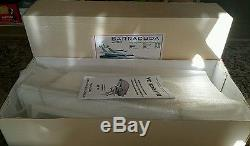 New CMR (ITALY) BARRACUDA Remote Control Art 3000 Model Boat Ship Kit with Motor
