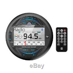 New Dual Marine Boat MGH37BT Gauge Hole mount MP3 USB Bluetooth Stereo Receiver
