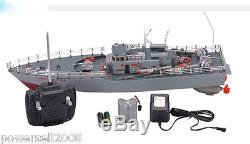 New Length 50CM Remote Control Boat Destroyer Rowing Boat Model Gift Toys