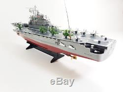 New Remote Control Challenger Aircraft Carrier RC Boat Warship Battleship Model