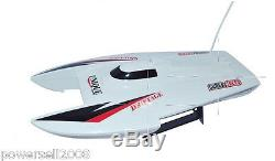New White Length 39.5CM Remote Control Boat Speedboat Rowing Boat Model Gift Toy