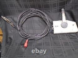 Omc Johnson Evinrude Remote Throttle Control 16ft Red Plug Motor Outboard Boat
