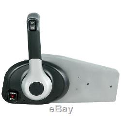 Outboard Remote Control Boat Throttle Box Concealed Side Mount For Mercury