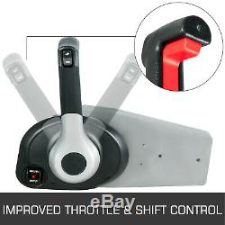 Outboard Remote Control Box Boat Throttle 8M0030550 For Mercury Side Mount