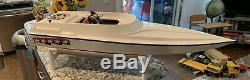 Prather Products Gas Powered Boat 1/4 Scale Remote Control Fun Cruiser Model Rc