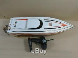 Pro Boat Impulse 31 Electric Remote Control Boat, Dual Rudder, Works, Brushless
