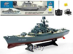 RC Boat Destroyer Radio Remote Control Battle Ship Warship Toy Top Quality Toy