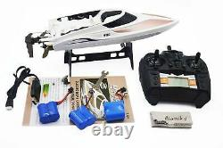 RC Boat Dual Hatches Radio 2.4G Remote Control Model Kit gift Extra 3 Battery FS