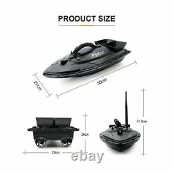 RC Wireless Fishing Lure Bait Boat Fish Finder 500M Remote Control RTR bait USA