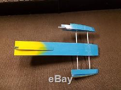 REALLY NICE RC REMOTE CONTROL OUTBOARD HYDRO RACING BOAT HULL
