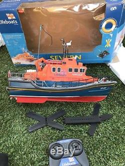 RNLI Severn Class Remote Control Lifeboat RC Model Boat 120 Boxed Severn