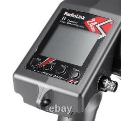 RadioLink RC6GS 2.4G 6CH Remote Controller with R7FG Receiver for Car Boat Parts