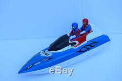 Radio Remote Control Boat Racing Speed Boat With Figures Speeds Up To 12km/h