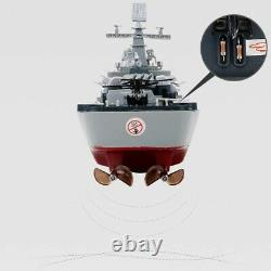 Rc Battleship Boat Large Scale High Speed Remote Control Boat, 2.4Ghz Rc Boats