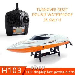 Rc Boat H103 Remote Control Boat Extra-large Size Speedboat Yacht High Speed