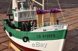 Rc Remote Control French Shrimp Boat