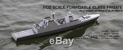 Rc Remote Control Singapore Navy Formidable Class Ship Boat (KIT)