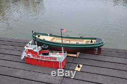Rc Remote Control US Lucky XI Tug Boat
