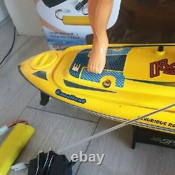 Rc Remote Controlled Surfer Nqd 757 Speed Cyclone Boat Electric Powered Wave